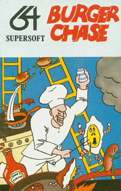 C64 Games - Burger Chase