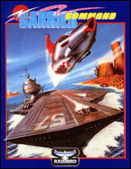 C64 Games - Carrier Command