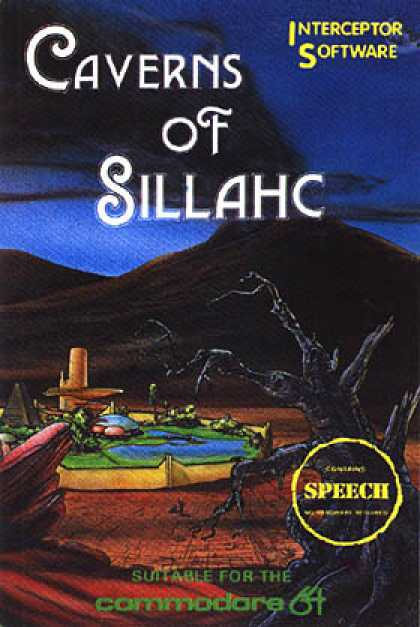 C64 Games - Caverns of Sillahc