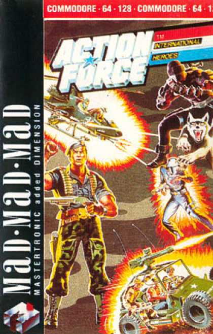 C64 Games - Action Force