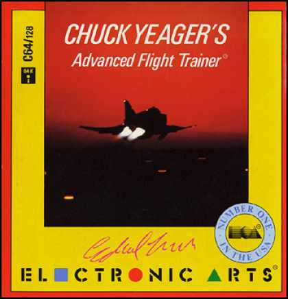 C64 Games - Chuck Yeager's Advanced Flight Trainer