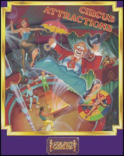 C64 Games - Circus Attractions