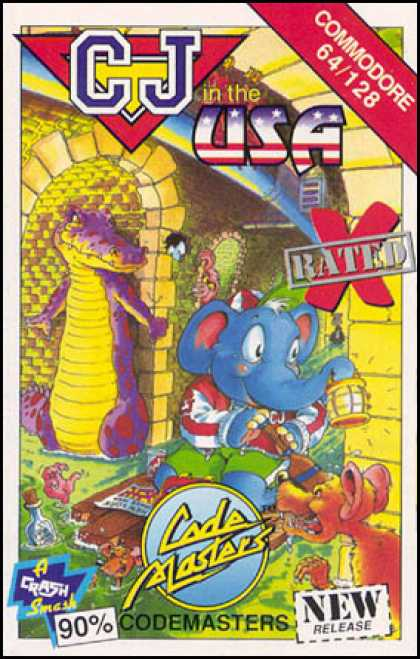 C64 Games - CJ in the USA