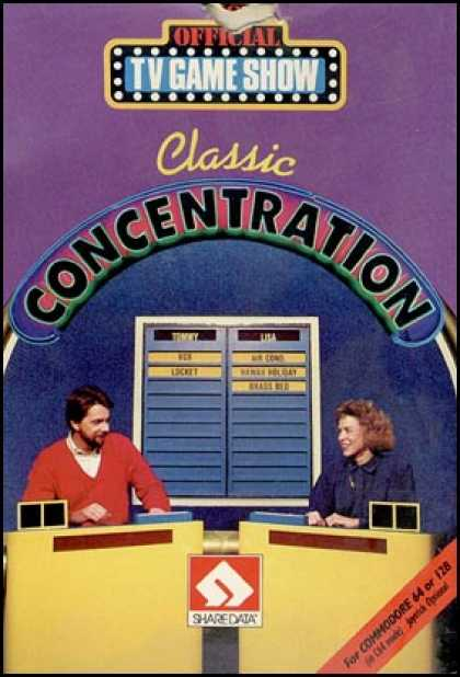 C64 Games - Classic Concentration