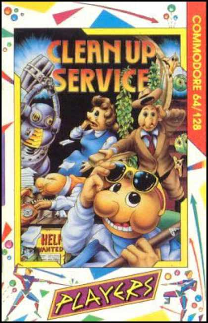 C64 Games - Clean Up Service