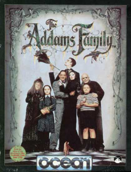 C64 Games - Addams Family, The