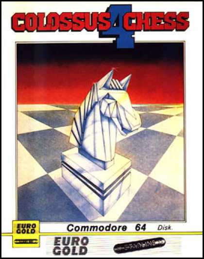 C64 Games - Colossus Chess 4