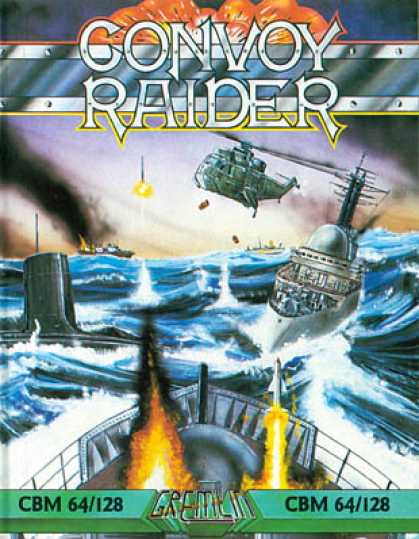 C64 Games - Convoy Raider