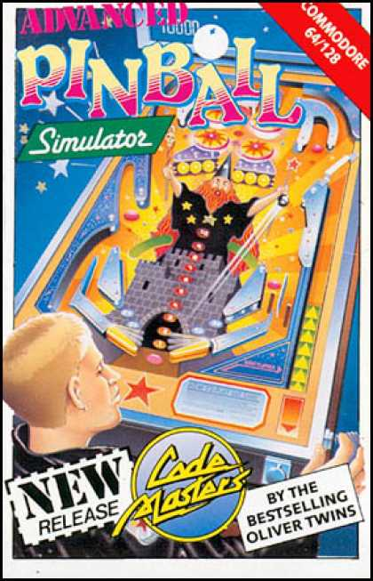 C64 Games - Advanced Pinball Simulator