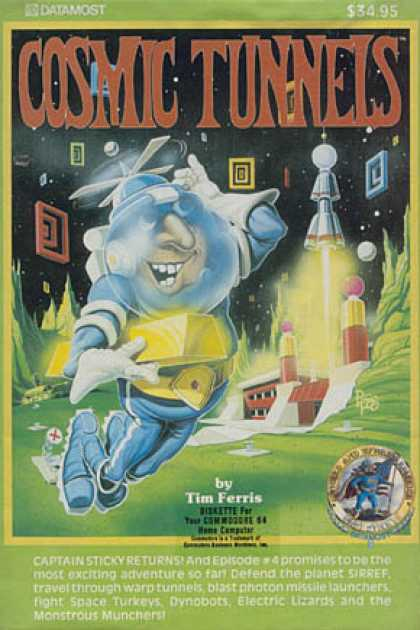 C64 Games - Cosmic Tunnels, The