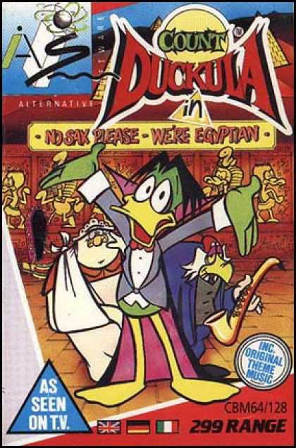 C64 Games - Count Duckula