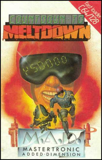 C64 Games - Countdown to Meltdown