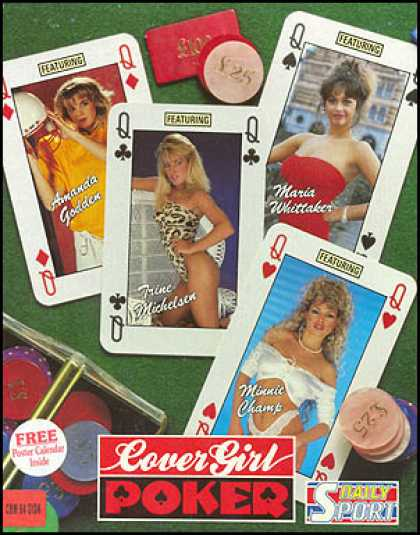 C64 Games - Cover Girl Poker