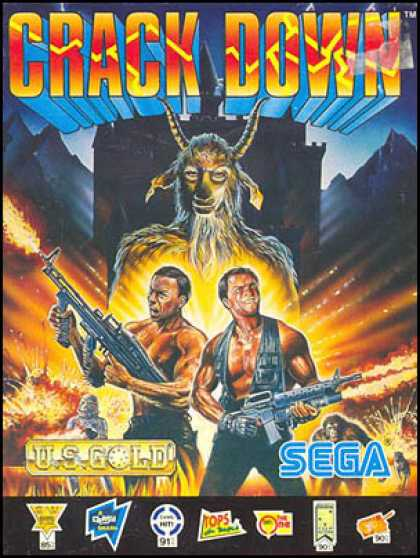 C64 Games - Crack Down