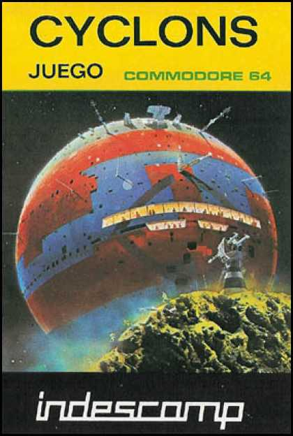 C64 Games - Cyclons
