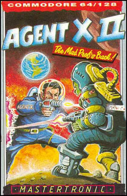 C64 Games - Agent X II - The Mad Prof's Back