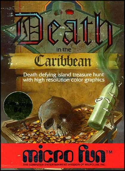 C64 Games - Death in the Caribbean