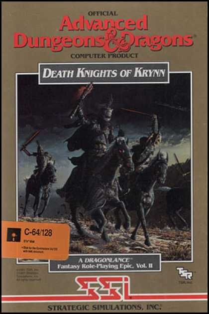 C64 Games - Death Knights of Krynn