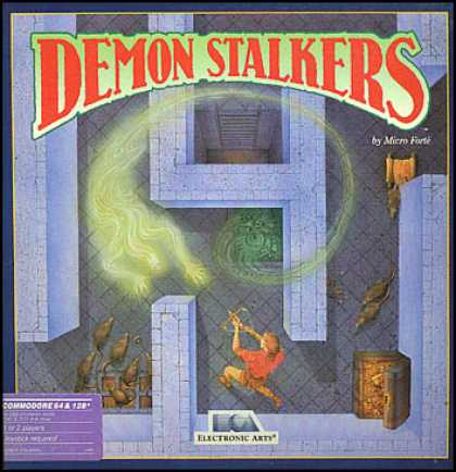 C64 Games - Demon Stalkers: The Raid on Doomfane
