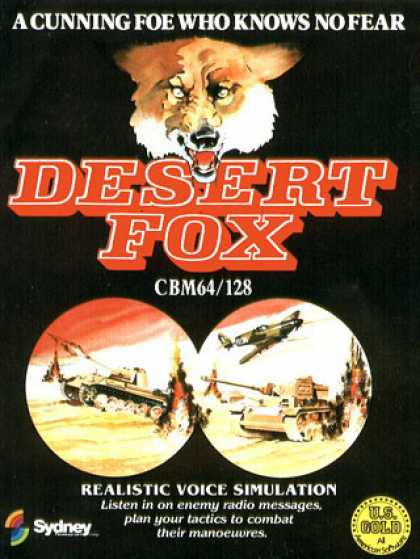 C64 Games - Desert Fox