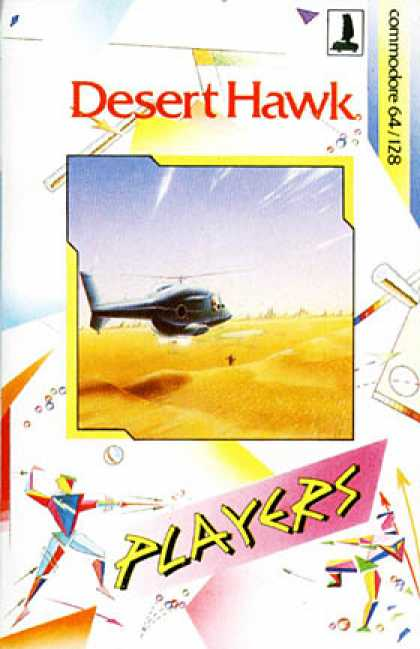 C64 Games - Desert Hawk