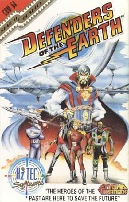 C64 Games - Defenders of the Earth