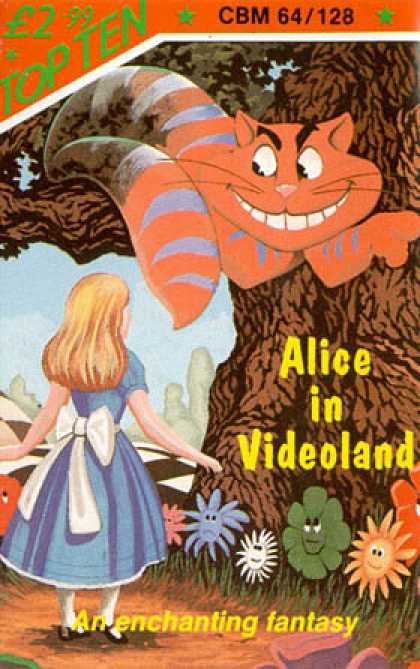 C64 Games - Alice in Videoland