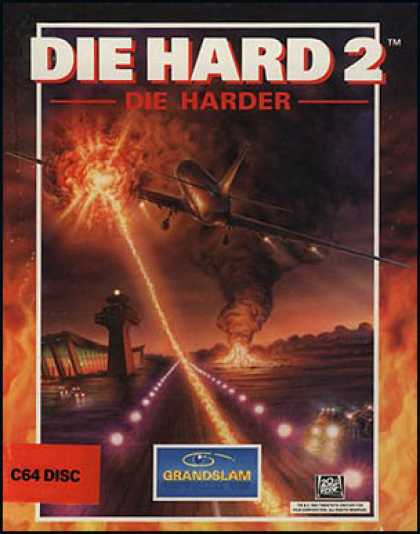 C64 Games - Die Hard 2: Die Harder