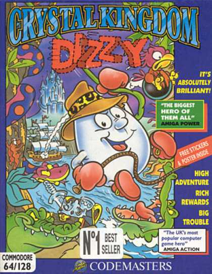 C64 Games - Dizzy: Crystal Kingdom