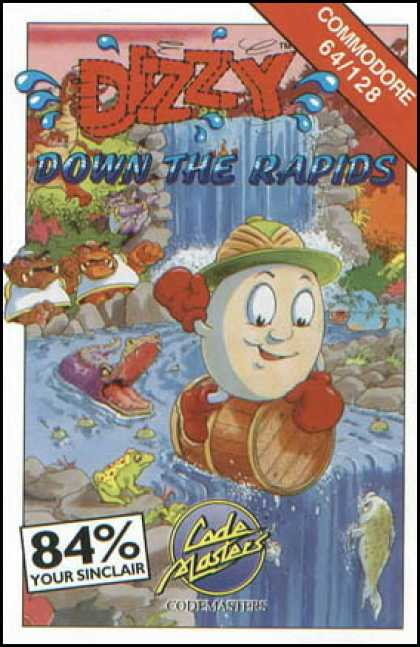 C64 Games - Dizzy: Down the Rapids