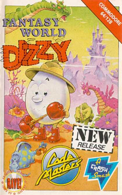 C64 Games - Dizzy: Fantasy World