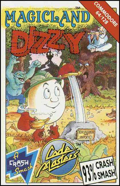C64 Games - Dizzy: Magic Land
