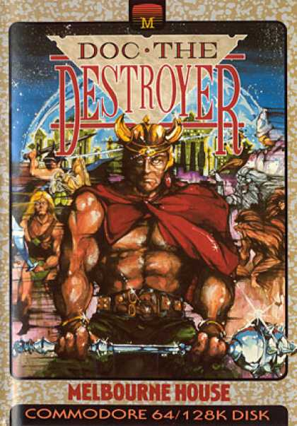 C64 Games - Doc the Destroyer