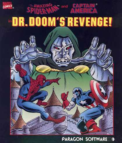 C64 Games - Doctor Doom's Revenge