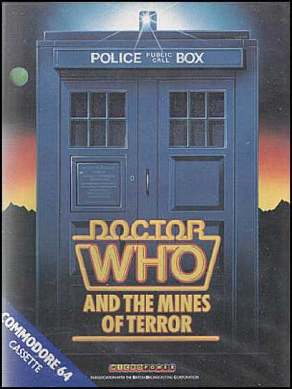 C64 Games - Doctor Who and the Mines of Terror