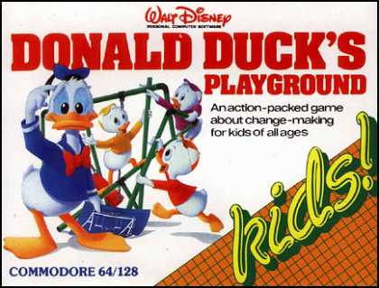 C64 Games - Donald Duck's Playground