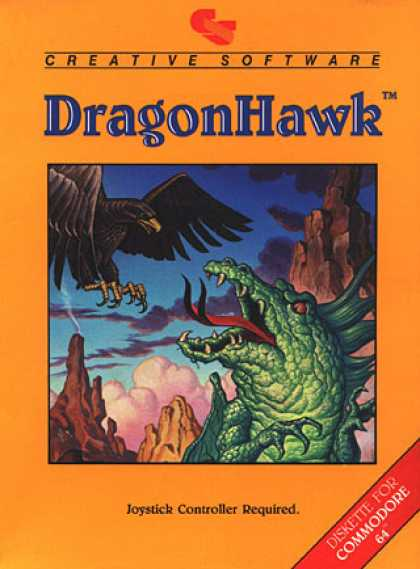 C64 Games - Dragon Hawk
