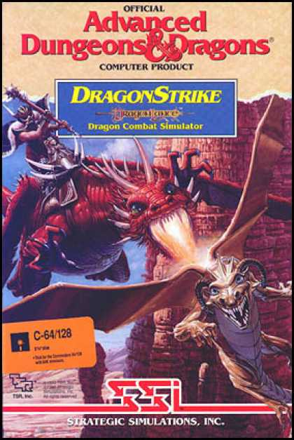 C64 Games - Dragon Strike