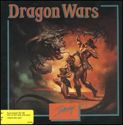 C64 Games - Dragon Wars