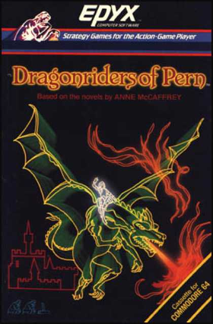 C64 Games - Dragonriders of Pern