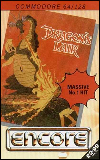 C64 Games - Dragon's Lair