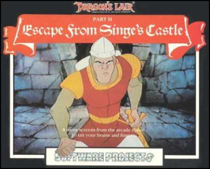 C64 Games - Dragon's Lair II: Escape from Singe's Castle