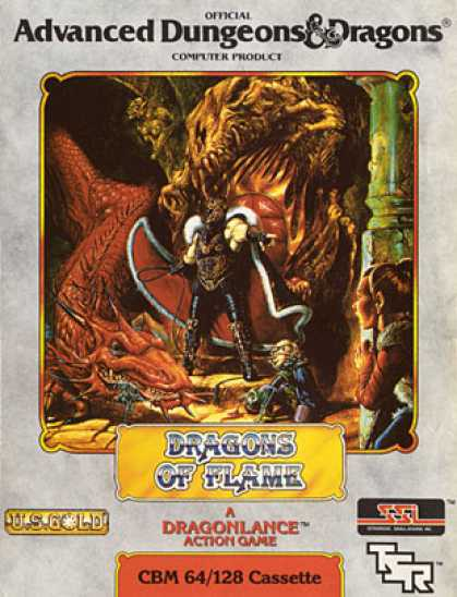 C64 Games - Dragons of Flame