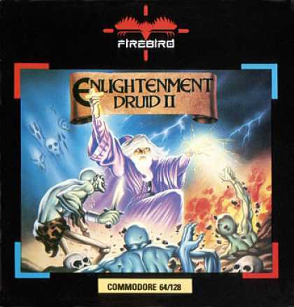 C64 Games - Druid II: Enlightenment