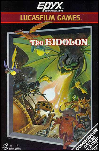C64 Games - Eidolon, The