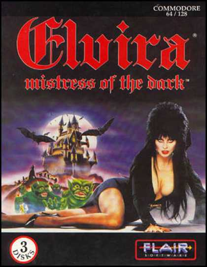 C64 Games - Elvira: Mistress of the Dark