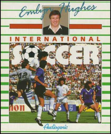 C64 Games - Emlyn Hughes International Soccer