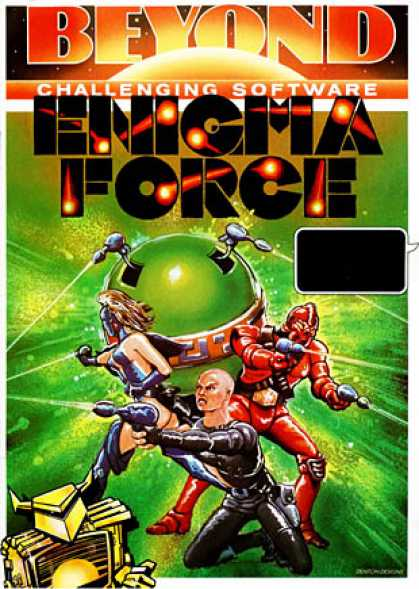 C64 Games - Enigma Force