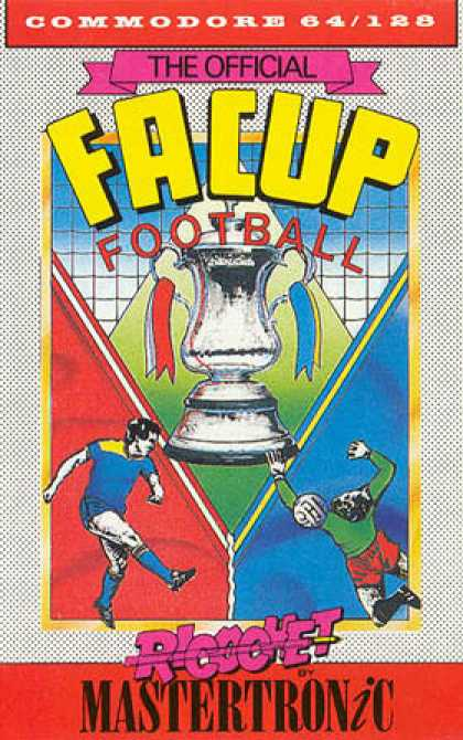 C64 Games - FA Cup Football