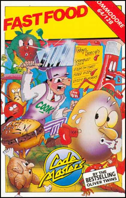 C64 Games - Fast Food